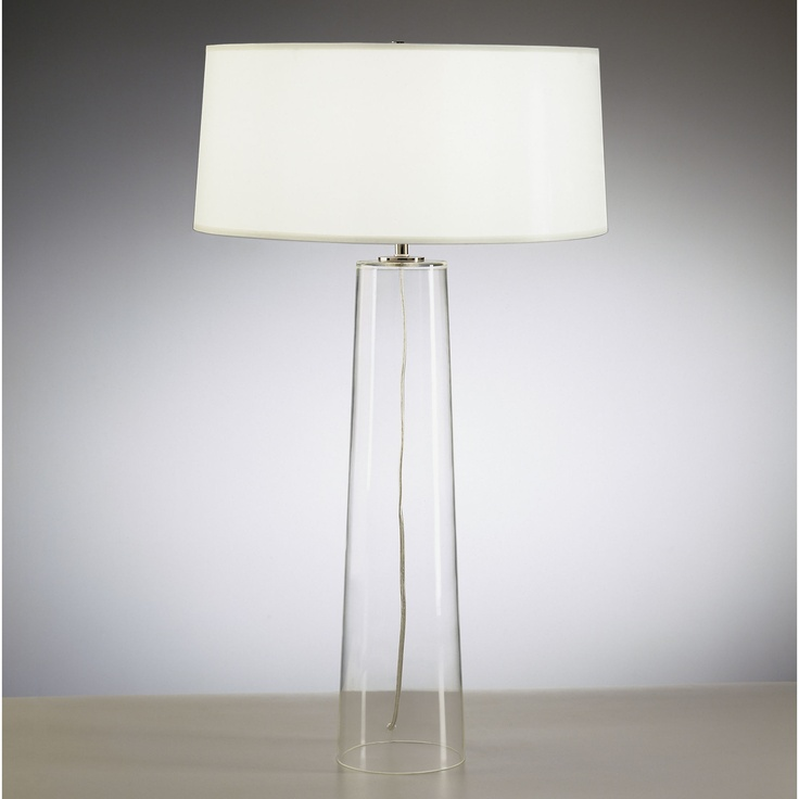 Robert abbey rico espinet olinda table lamp with white organza fabric shade