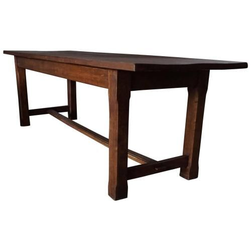 antique french oak farm table for sale at pamono - Farm Tables For Sale