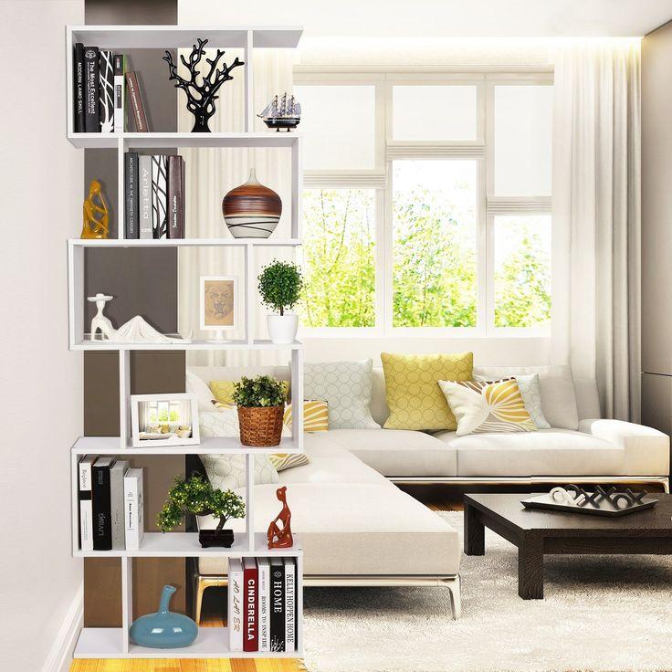 Die besten 25+ Bücherregal Raumteiler Ideen auf Pinterest Ein - holz regal als raumteiler idee einrichtung