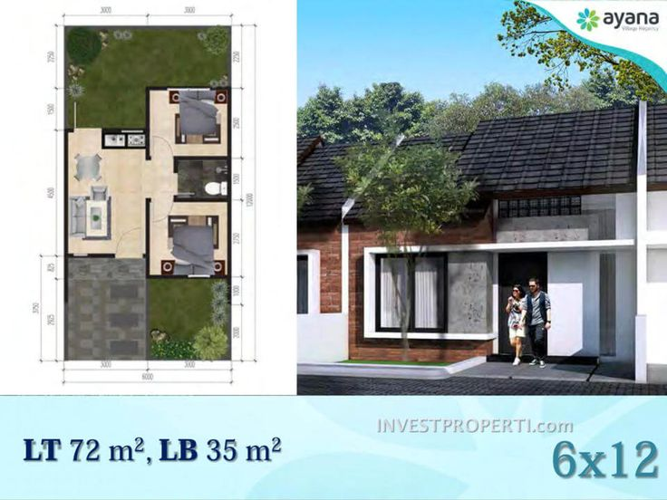 Tipe rumah 35 Ayana Village Tigaraksa