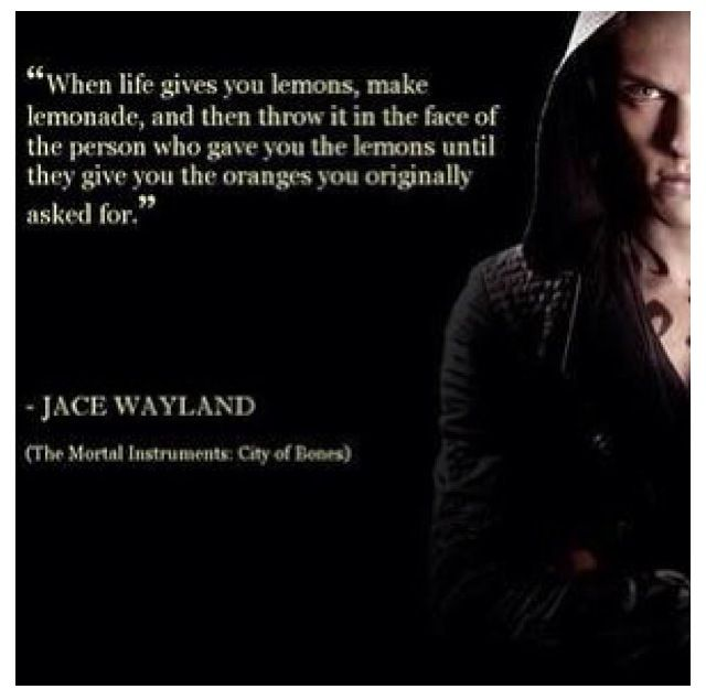 Will Herondale And Jace Quotes. QuotesGram