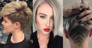Korte haarstijlen komen in zoveel soorten en maten. Je kan kiezen voor een superkorte pixie, undercut, sidecut, korte bob, schuine lok, en ga zo maar door. Omdat er veel vrouwen zijn die niet precies weten wat ze willen hebben wij gewoon een variatie van de mooiste korte kapsels uitgezocht. Bekijk ze hieronder: