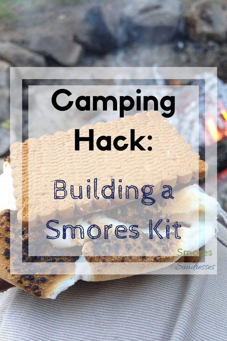 Smores & Sundresses - Building a Smores Kit - marshmallow #smores #campingtips