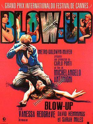 affiche BLOW UP - ANTONIONI - David HEMMINGS