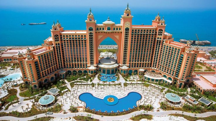 Atlantis the Palm, one of world's most luxurious hotels