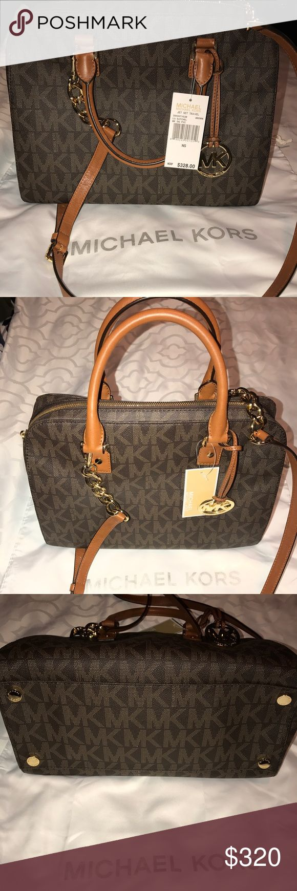 Michael Kors Jet set Travel Michael Kors Large Jet set Travel Brand new with tag! Comes with dust bag Michael Kors Bags Travel Bags