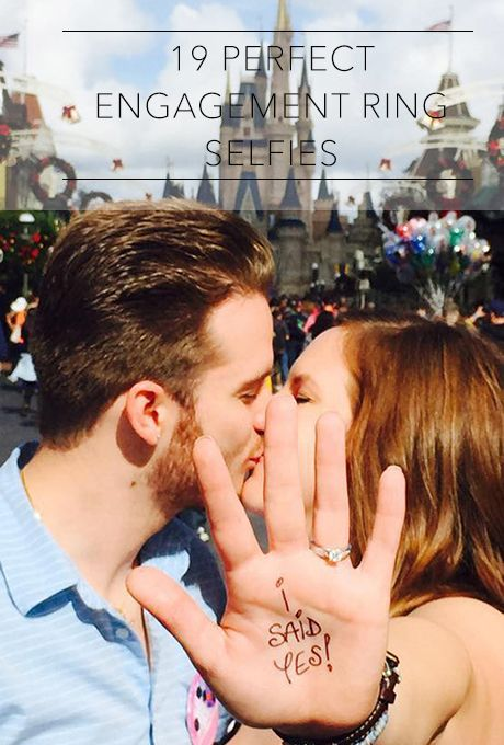 Because if you didn't take a selfie, did the proposal even happen? | Brides.com