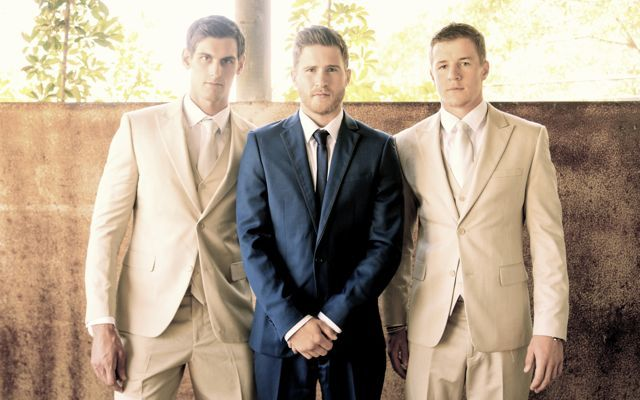 We have a beautiful suit range in a variety of rich textures and colours that will please any Groomsmen! - Available at When Freddie met Lilly.