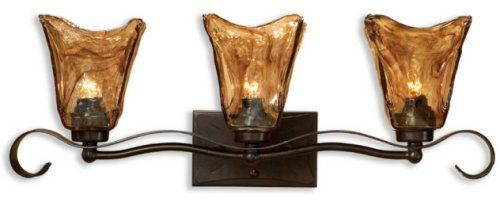 Moen Yb9863orb Waterhill Three Globe Bath Light Oil: Vanity Lights Images On Pinterest