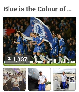 BOARD: Blue is the Colour of Football - Carefree since 1905, by Bruce Cooper / @chelseacoops