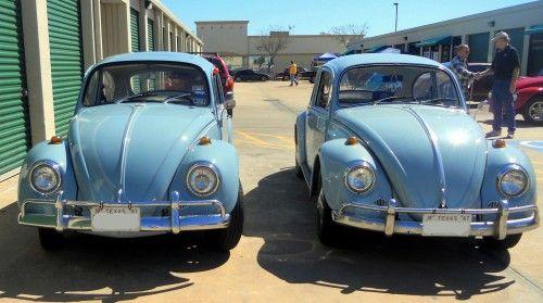 Zenith Blue '67 Beetle Twins!