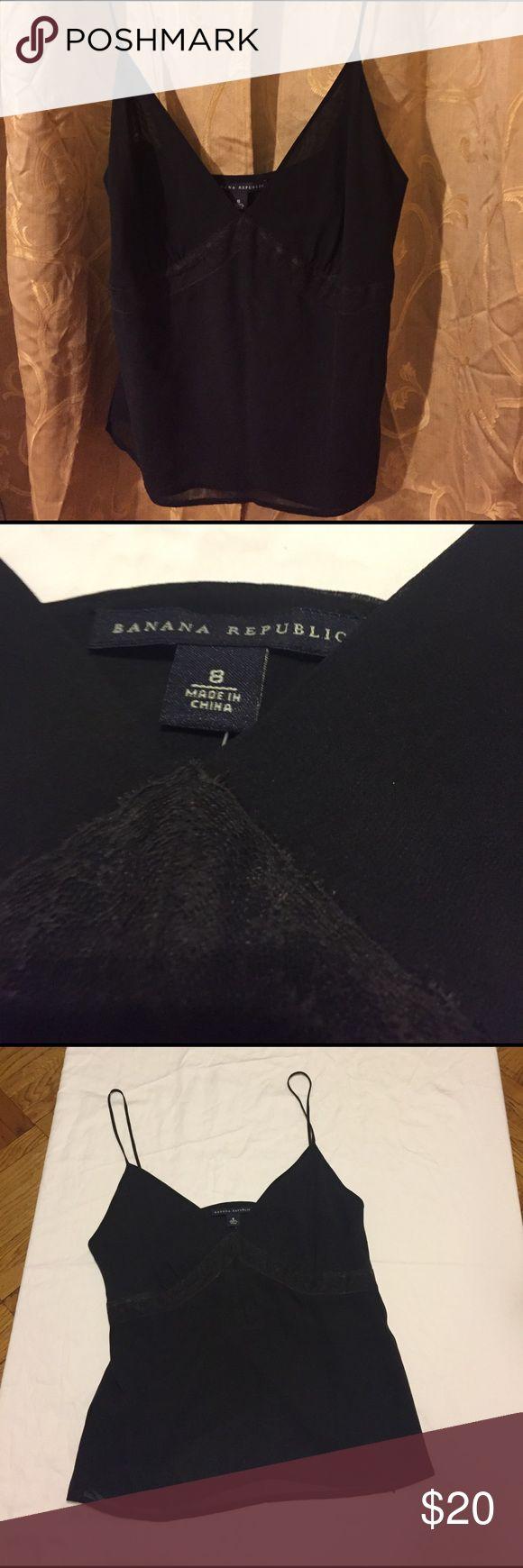 Banana Republic women's camisole Brand new, never worn, women's spaghetti strap camisole. Banana Republic Tops Camisoles
