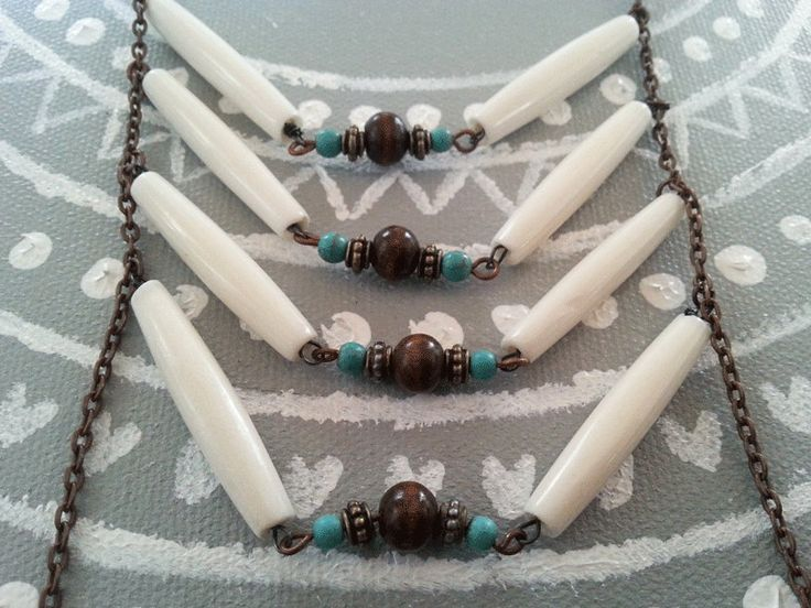 Tribal Indian Necklace by Jewlify on Etsy