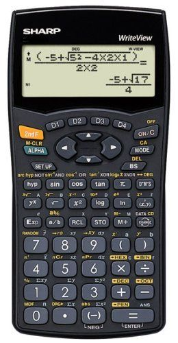 Sharp EL-W535HT WriteView Scientific Calculator by Sharp.