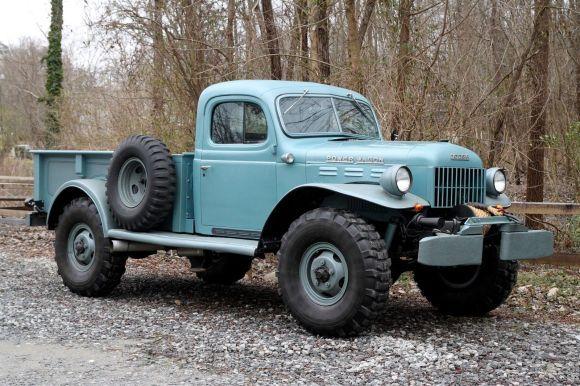Nicely Upgraded: 1949 Dodge Power Wagon V8