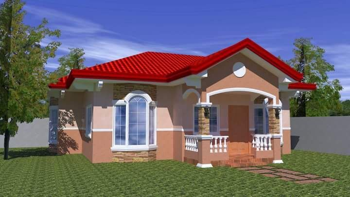 20 small beautiful bungalow house design ideas ideal for for Small modern bungalow house design