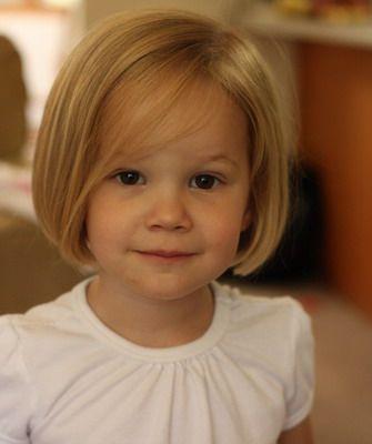Детское каре - стрижка для маленьких девочек с фото