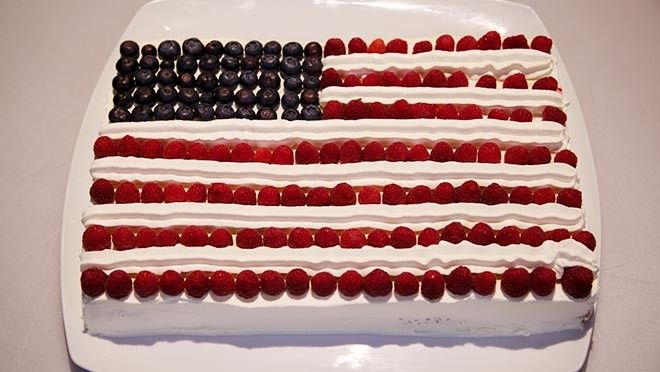 Stars and Stripes cake - Rudolph's Bakery | 24Kitchen
