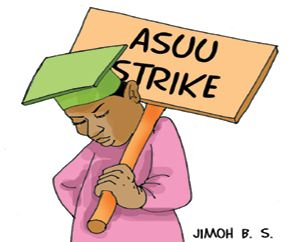 Strike Continues as ASUU/FG meeting ends in futility   News48hour.com reports that six days after a meeting between the Senate and the Academic Staff Union of Universities ASUU ended in stalemate a renewed of same to nip in the bud ongoing warning strike again ended in deadlock today.At the end of the 8 hours meeting which ended 8.32 pm Monday there was however no concrete agreement between the University lecturers and the lawmakers.Addressing Journalists after the meeting Chairman Senate…
