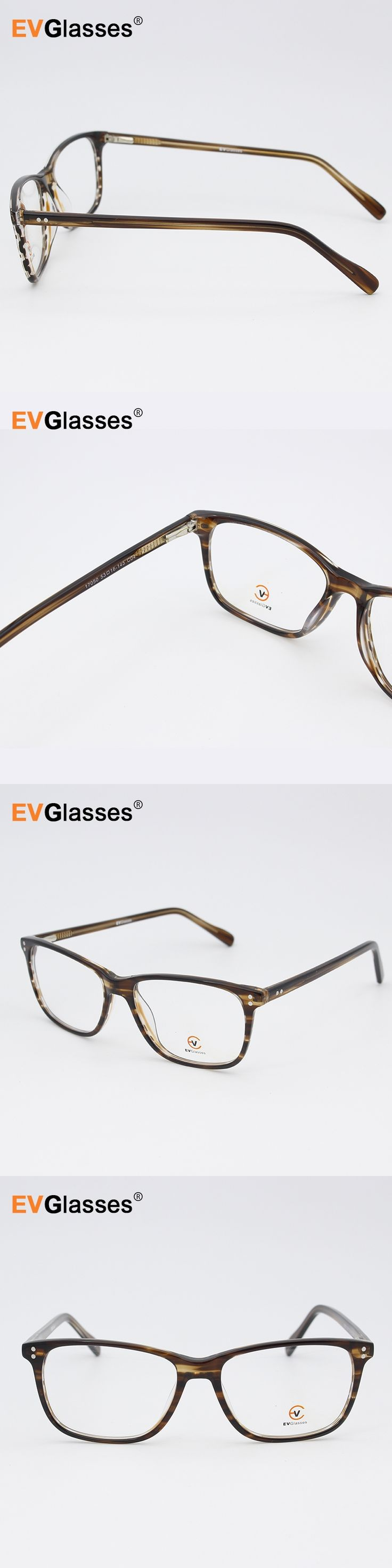 EVGlasses Handmode Acetate men's Optical Glasses Frames Eyeglasses Frame #EV17050