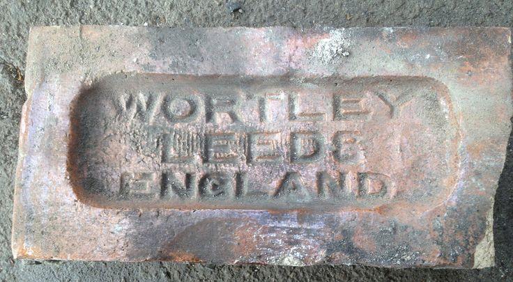 Wortley, Leeds, England glazed brick - from Barkingside station, London (1903)