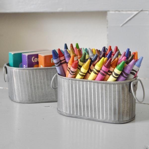 Tin Bucket Set - Thirteen & Market