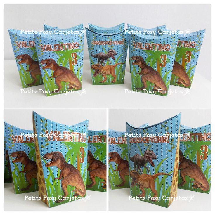 Envases para golosinas - Party Box - Jurassic World