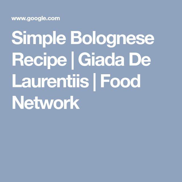 Simple Bolognese Recipe   Giada De Laurentiis   Food Network