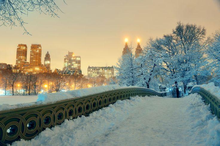 New York karácsonykor