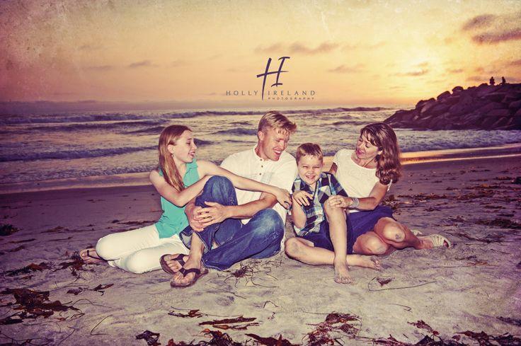 sunset family photos in San Diego Ca