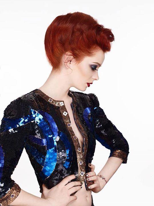 Belle de Nuit, UNICA februarie 2014 Photo : Atelier Bărăgan  Hair : Alin Gabriel Mihalache  MUA : Andreea Anton Makeup Professional  Styling : Alexandra Calafeteanu  Model : Codruţa Teslăraşu Produse : SLA Paris (Romania)