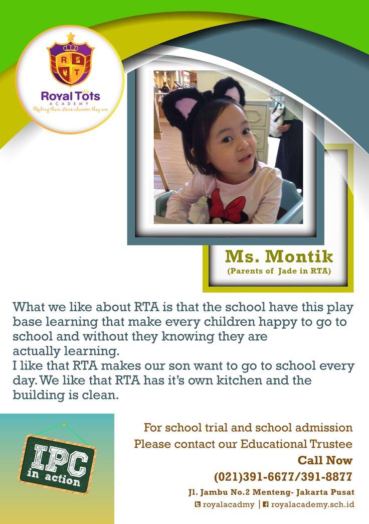 #IEYC #IPC #Preschool # Jakarta #Menteng #RoyalTotsAcademy http://royaltots.sch.id/