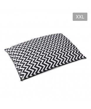 Washable Wavy Stripe Heavy Duty Pet Bed - XXL