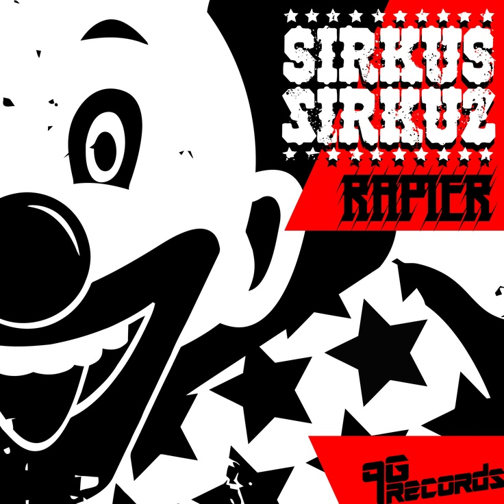 """""""Rapier,"""" the first full release by 9G Records for Sirkus Sirkuz, and second appearance on the label, is a driving and gritty electro track, steeped deep in a four to the floor house beat and vocal."""