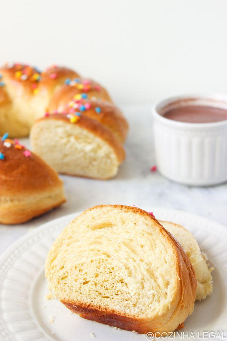 Pão Italiano de Páscoa | Cozinha Legal