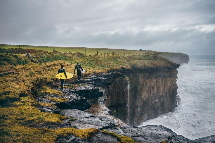 Winter surfing in Ireland by David Sciora on 500px