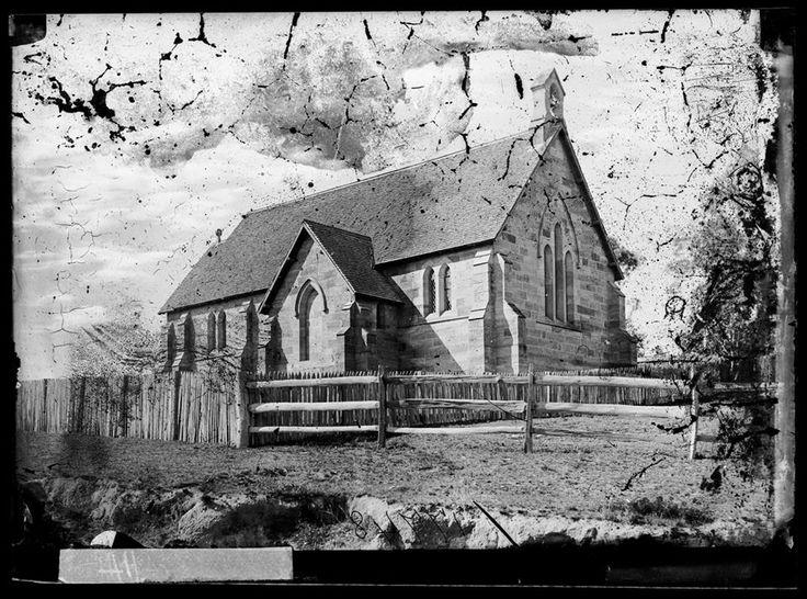 Anglican Church of St. John the Evangelist, Hartley c1870 (SLNSW)