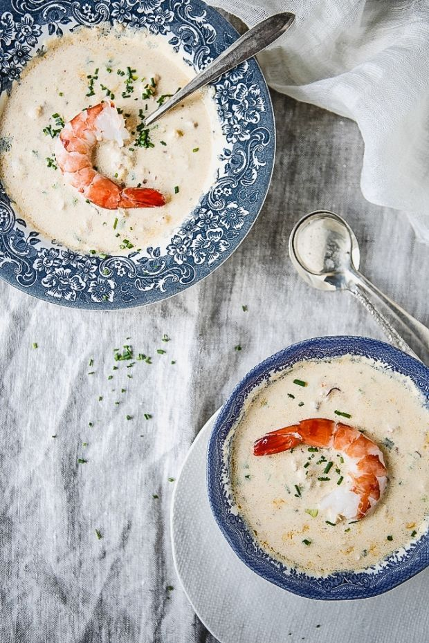 Simple Seafood Bisque