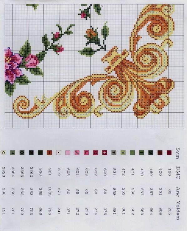Gallery.ru / Фото #1 - Подушка с цветами - irgelena