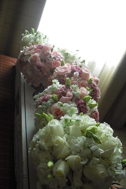 Wedding Flower Arrangements Tampa : Pink and white bouquets tampa wedddings by apple