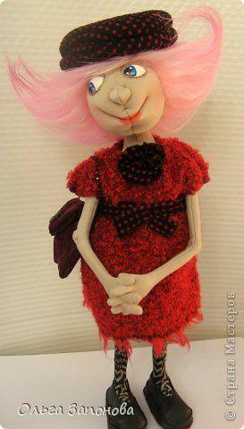 Куклы Шитьё Тётенька по мотивам Джилл Маас Ткань фото 2