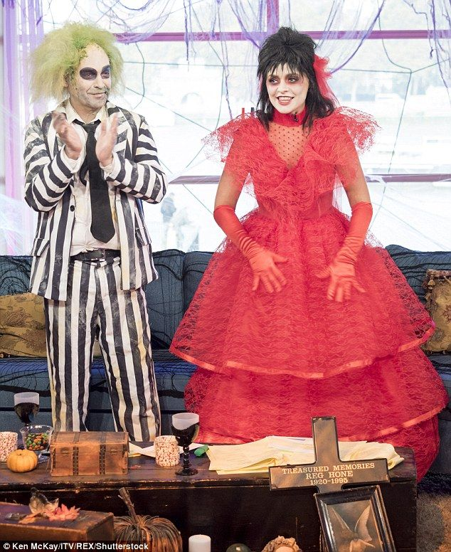 Image result for lydia and beetlejuice wedding