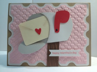 Cricut; Valentine's Day Card; Doodlecharms; Elegant Edges; CTMH Artiste