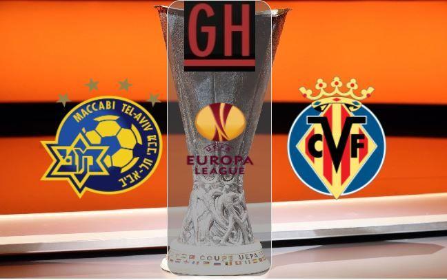 Maccabi Tel Aviv Vs Villarreal Uefa Europa League Video Highlights Europa League Tel Aviv League