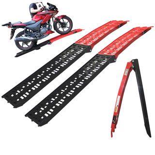 View Item Black Pro Range (B5144) Coated Folding Motorcycle Loading Ramp (Pair)