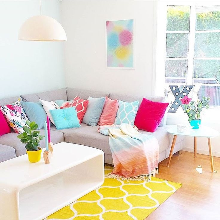 I Present An Amazing House Which You Can Visit On Enjoy With This Cute And Happy Livingroom
