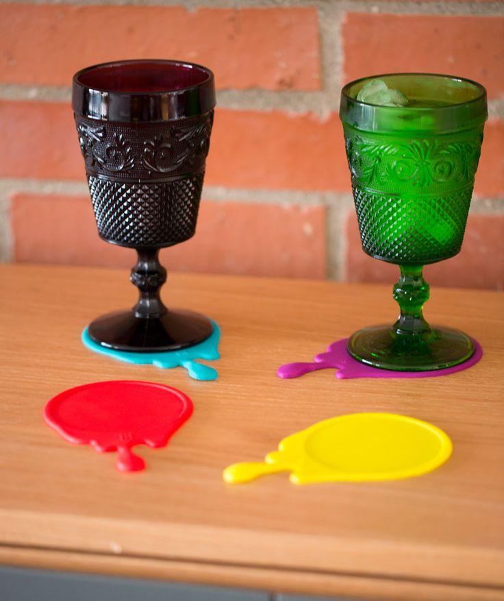 Splash - Portavasos. $17.900 COP. Cómpralos aquí--> https://www.dekosas.com/productos/hogar-decoracion-mulikka-porta-vasos-splash-detalle