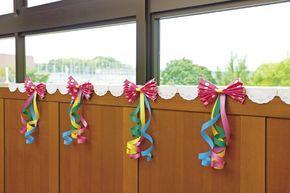 鮮やかピンクでキュートに「水玉リボンのどこでも飾り」 季節の製作 PriPricafe(プリプリカフェ) 保育が広がるWEBメディア