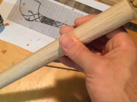 Here's a detailed step-by-step tutorial on how to make a curved wooden pipe…