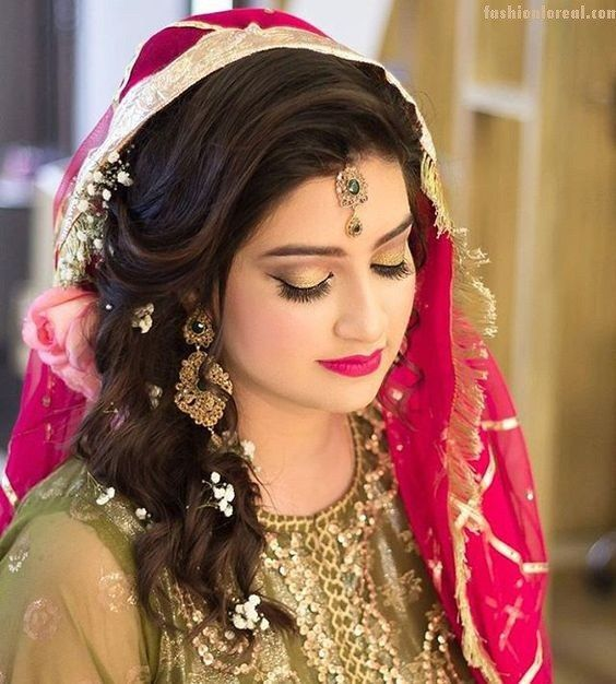 indian women hair style photos 17 best ideas about indian wedding hairstyles on 7387 | bfb5c37a8149b29608e9ff854c23fb0b